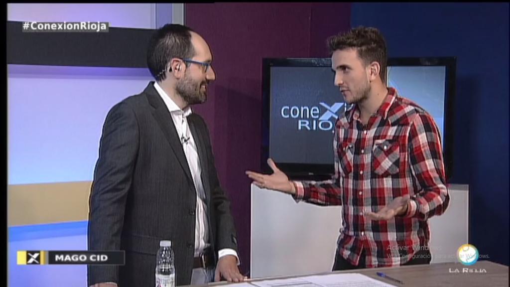 Entrevista en televiisión Conexion Rioja