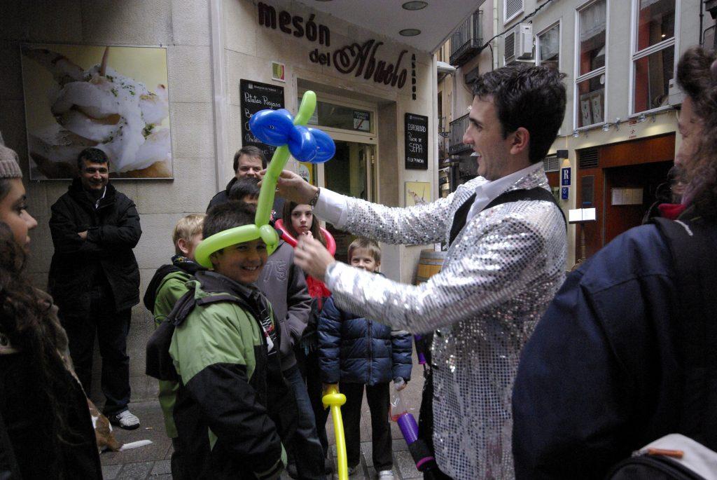 Magia de Calle en La Laurel Logroño