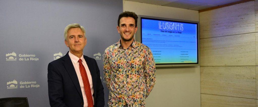 Rueda de Prensa de Ilusionitis 2018 con el Consejero del Gobierno de La Rioja